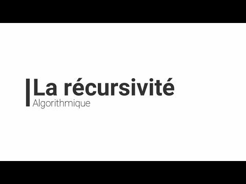 Algorithmique : La Récursivité (darija)