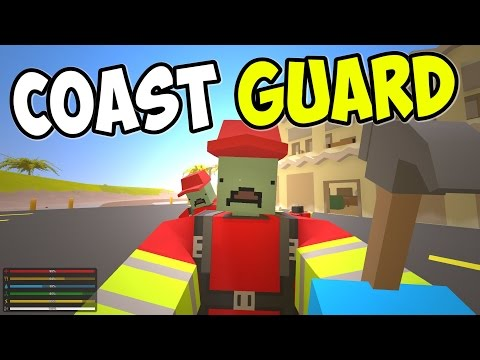 """UNTURNED - """"Coast Guard HQ!!"""" Episode 72 (Unturned Role-play Hawaii Playthrough)"""