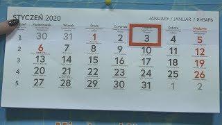 Lokalna.TV: Dni wolne w 2020 roku