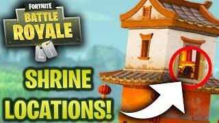 *NEW* SHRINE CHALLENGE! Fortnite Battle Royale! [Challenge] (2.5.0 New update)