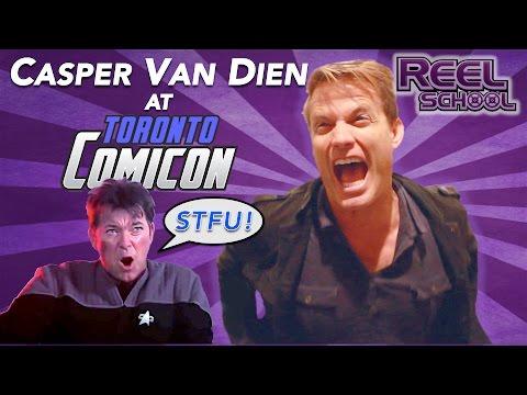 CASPER VAN DIEN talks STARSHIP TROOPERS (Toronto ComiCon 2016)