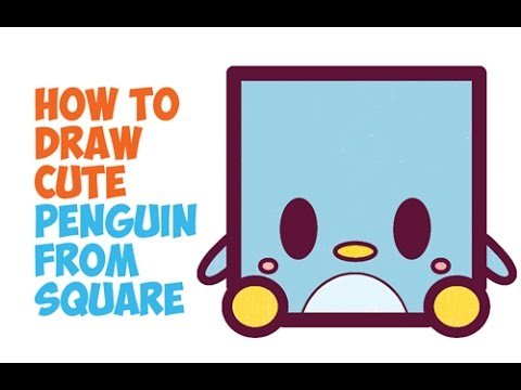 How To Draw Cute Penguins Cute Chibi Kawaii Cartoon Penguins In