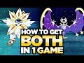 How To Get BOTH Legendary Pokemon in ONE GAME - Pokemon Ultra Sun and Moon | Austin John Plays