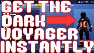 Comment obtenir The Dark Voyager INSTANTLY à Fortnite: Battle Royale