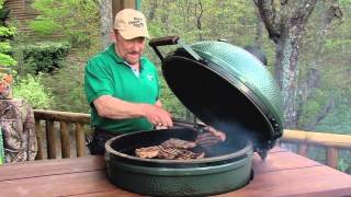 8 Minute Steaks  - Cooked on the Big Green Egg