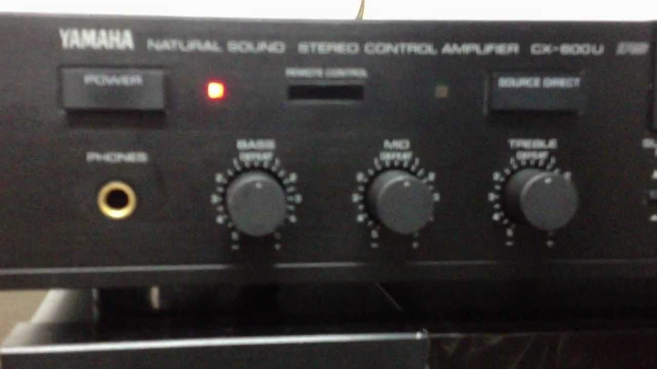Yamaha Mx-600u Power Amplifier