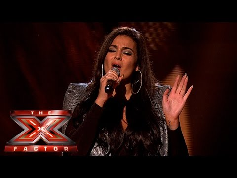 Monica sings for her place in the competition | Week 3 Results | The X Factor 2015