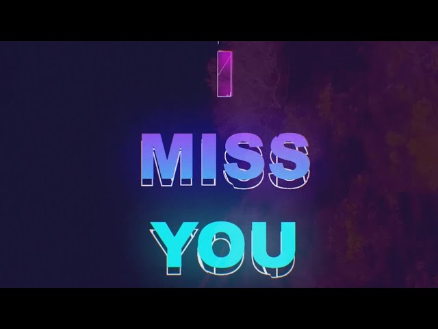 Gianluca Dimeo - I Miss You (Lyric Video)