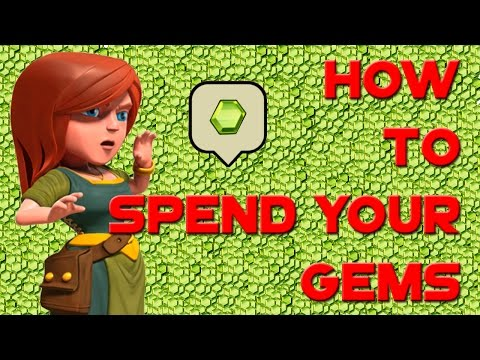 Clash of Clans - How to SPEND YOUR GEMS & 8,600,000 LOOT BOOST!!!
