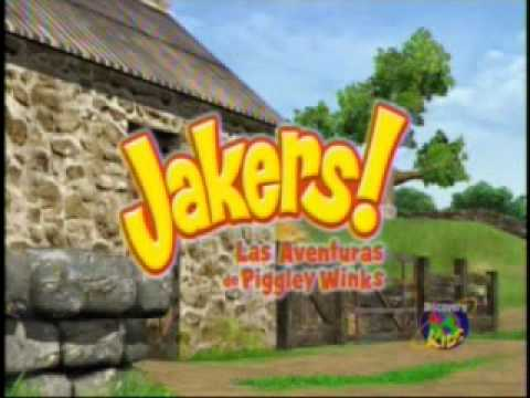 Discovery Kids Jakers Las Aventuras De Piggley Winks Latino