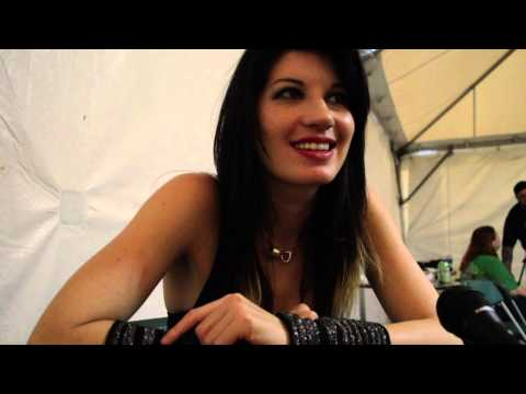 Interview with Emma Anzai at Rock on the Range 2013