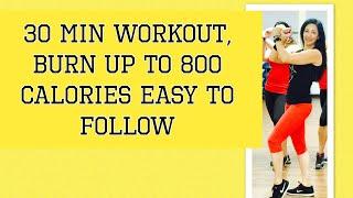 Video 30 Min II Aerobic dance workout II By Danielle's Habibis download MP3, 3GP, MP4, WEBM, AVI, FLV Oktober 2017