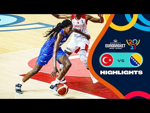 Turkey - Bosnia and Herzegovina | Highlights - FIBA Women's EuroBasket 2021