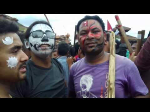सा पारु : Gaijatra 2073 (Taha Macha Gana Te - Ravi Bhomi | New Newari Song 2015 (Nepal Bhasa))