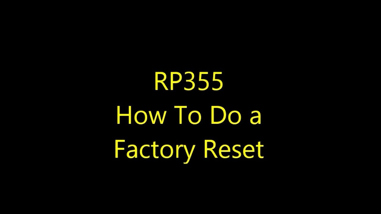 youtube how to put ipad back to factory reset
