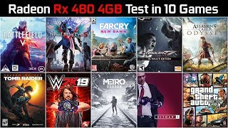 aMD Radeon RX 480 4GB: gameplay в 25 популярных играх в Full HD