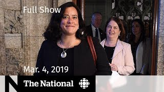 The National for March 4, 2019 — Philpott Resigns, At Issue, Michael Jackson Fallout