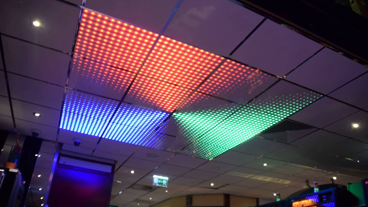 Systeem plafond LED - YouTube