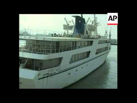 Saddam Hussein's yacht arrives in Basra after ownership dispute