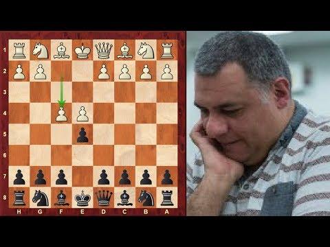 Amazing Blitz Chess Game: GM John Shaw vs Kingscrusher ...