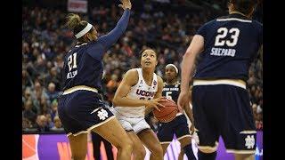 Women\'s Basketball NCAA Tournament Final Four Highlights (OT) - Notre Dame 91, UConn 89
