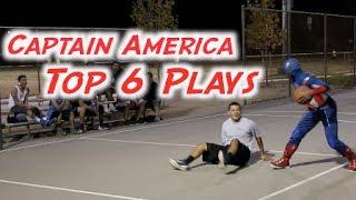 Captain America Plays Basketball Top 6 Highlights! thumbnail