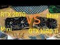 RTX 2070 vs GTX 1080 Ti (Zotac Minis) in OW, BO4, PUBG