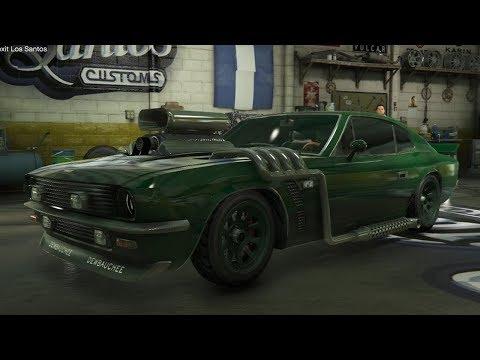 DE 'MUSTANG' 'SPORT' AUTO PIMPEN! (GTA V Online Rapid GT Classic Freeroam)