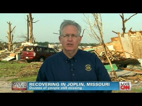 CNN: Missouri Governor, Jay Nixon 'We will rebuild Joplin'