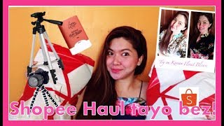 SHOPEE HAUL  , TRY ON & UNBOXING Vlog| Simply Mhyles😊💕