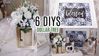 💖6 DIYS DOLLAR TREE GLAM CHIC SPRING/ BRIDAL DECOR 💖 Olivia