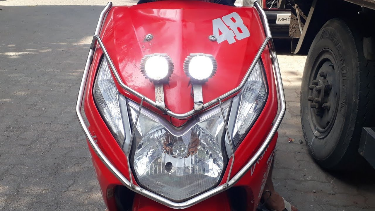 small resolution of how to install fog extra lights in honda dio