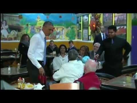 Obama Makes Stop For Tacos At La Hacienda While In Nashville