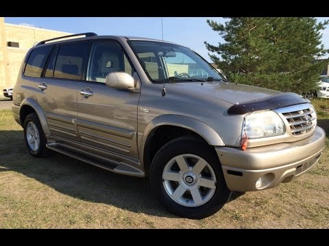 pre owned gold 2003 suzuki xl 7 limited auto 4wd w 3rd row in depth review sylvan lake alberta youtube pre owned gold 2003 suzuki xl 7 limited auto 4wd w 3rd row in depth review sylvan lake alberta