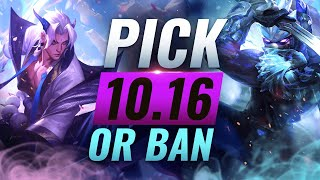 Baixar OP PICK or BAN: BEST Builds For EVERY Role - League of Legends Patch 10.16