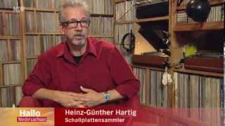 Schallplattensammler Heinz Günther Hartig