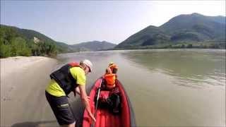 Kanutour auf der Donau durch die Wachau