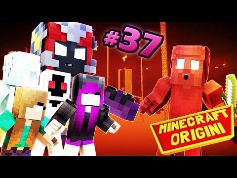 NULL, HEROBRINA, ENTITY303, GLITCH999 E FROST GIRL Contro RED STEVE - Minecraft Origini #37