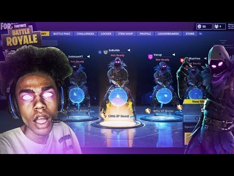 *NEW* EPIC FORTNITE RAVEN SKIN 👀 4 RAVEN SKINS WIN ON FORTNITE BATTLE ROYALE