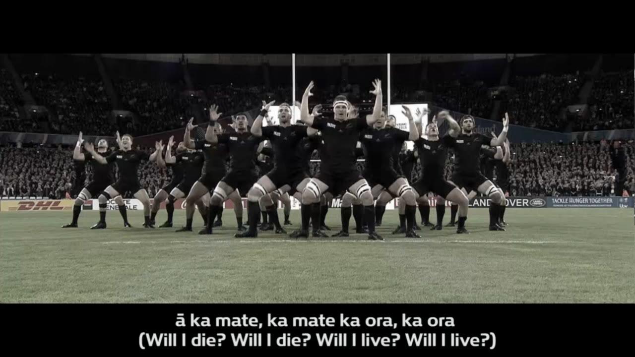 All Blacks Haka With Translation Youtube