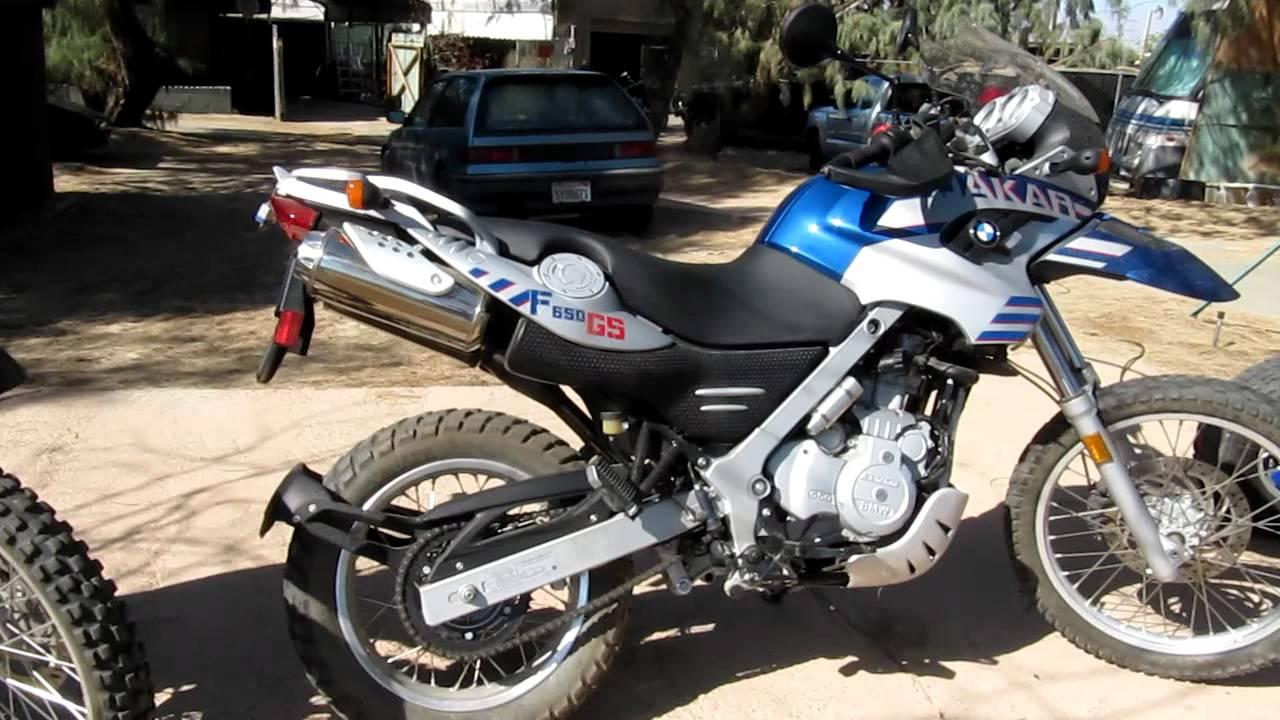 Bmw F650 Dakar Like New For Sale Www Samscycle Net Mvi 1350 Mov