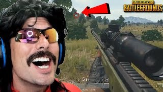 DrDisRespect's WORLD RECORD Shots on Battlegrounds and Funny Moments on PUBG!