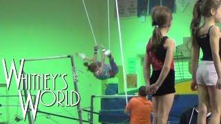 Tkachev Training   Day 1   Whitney Gymnastics Uneven Bars