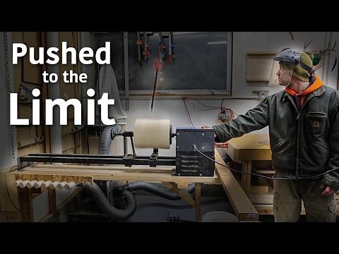 Wood Lathe Capacity Test