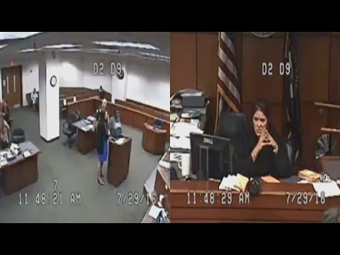 Judge Outraged As Defendant Comes To Court Naked From The Waist Down