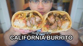 how to make burrito