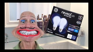 GE Reveal LED Light Bulbs Review and Comparison to Incandescents