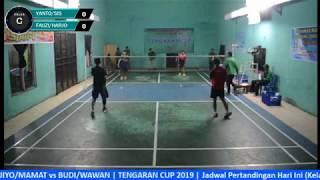 Badminton - Tengaran Cup 2019 - HARI 1 (Kelas C - Q1 & R32)