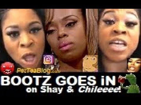 """Bootz Goes Off on Shay Johnson """"You look like a MONKEY & DW from Authur!"""" 🙊☕"""