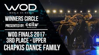 Chapkis Dance Family | 3rd Place Upper | Winner's Circle | World of Dance Finals 2017 | #WODFINALS17